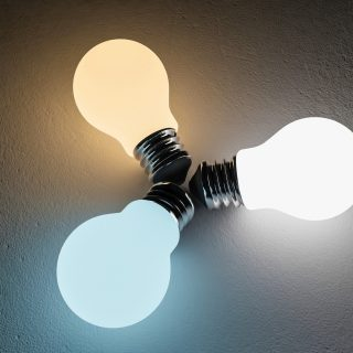 led bulb color comparison