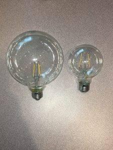 globe style bulb